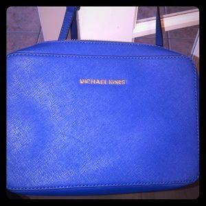 Crossbody Royal Blue MK bag
